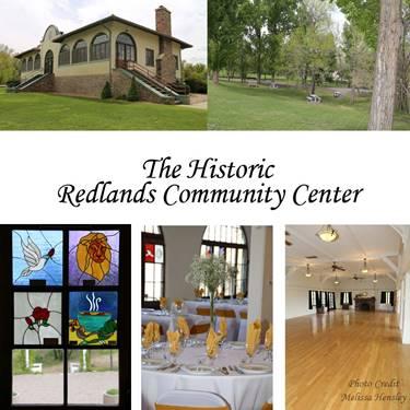 Redlands Community Center Collage